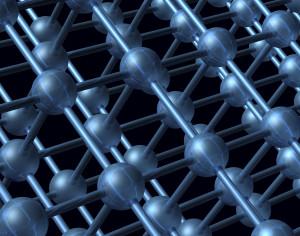 Nanoteknologipartikkel i 3D-struktur